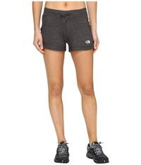 The North Face Tri Blend Shorts Tnf Dark Grey Heather Women's Shorts Gray