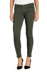 Paige Women's Transcend Verdugo Ankle Ultra Skinny Jeans Army