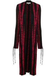 Mcq By Alexander Mcqueen Long Knitted Scarf Black