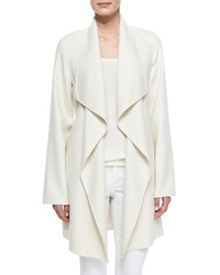 Neiman Marcus Cashmere Collection Cashmere Double Face Wrap Coat