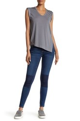 Abound Knee Patch Skinny Jean Deep Tint