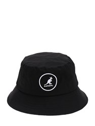 Kangol Cotton Bucket Hat Black