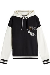 Dolce And Gabbana Colorblock Hoodie With Cotton