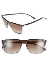 Boss Men's 57Mm Retro Sunglasses