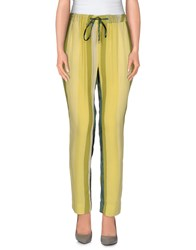 Brian Dales Trousers Casual Trousers Women Acid Green