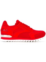 Philipp Plein Hainan Sneakers Red
