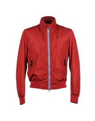 Brooksfield Jackets Red