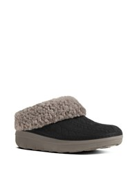 Fitflop Loaff Tm Slip On Slippers Black