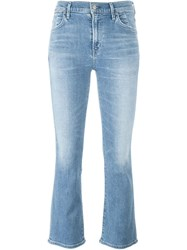 Citizens Of Humanity Bootcut Cropped Jeans Blue