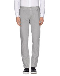 Siviglia White Trousers Casual Trousers Men Light Grey