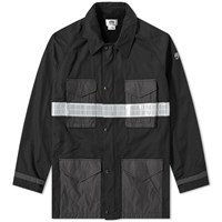 Junya Watanabe Man Eye Reflective Taped M65 Jacket Black
