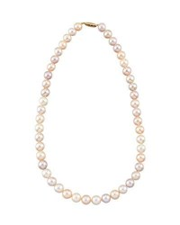 Belpearl 14K Multihued Freshwater Pearl Necklace 18 L