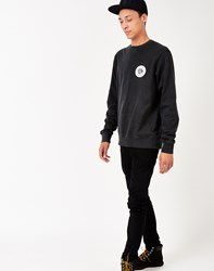 The Hundreds Scotch Crew Neck Sweatshirt Black