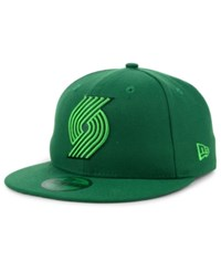 New Era Portland Trail Blazers Color Prism Pack 59Fifty Fitted Cap Green