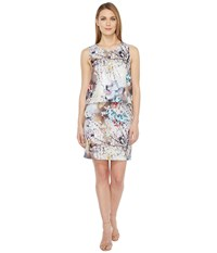 Rsvp Mica Printed Dress With Back Detail Floral Multi Women's Dress