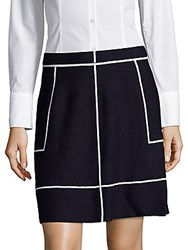 Saks Fifth Avenue Banded Waist Skirt Night Life