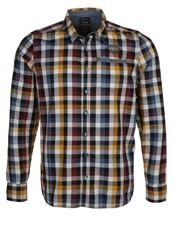 Killtec Geo Jotaro Checker Shirt Jeansblau Blue
