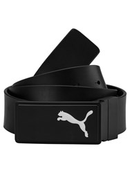 Puma Reversible Leather Ctl Belt Black