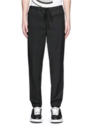 3.1 Phillip Lim Elastic Cuff Jogging Pants Black