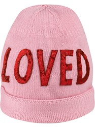 Gucci Wool Hat With Sequin Loved Pink And Purple