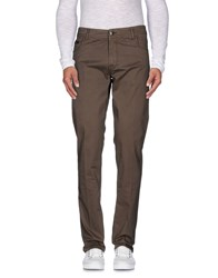 Re.Bell Trousers Casual Trousers Men Military Green