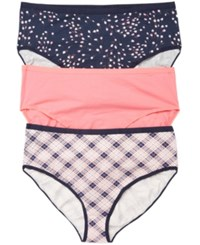 Motherhood Maternity Plus Size Hipster 3 Pack Briefs