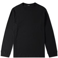 Raf Simons Long Sleeve Hyena Tee Black