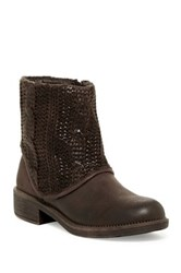 Rebels Ingram Knit Boot Brown