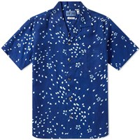 Blue Blue Japan Short Sleeve Sakura Shirt Blue