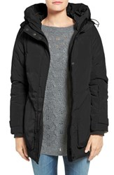 Hawke And Co Women's Co. Water Resistant Hooded Puffer Coat