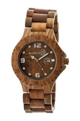 Earth Wood Unisex Raywood Watch Brown