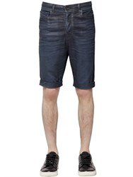 Diesel Black Gold Slim Fit Stretch Denim Effect Shorts
