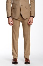 Paisley And Grey Khaki Slim Twill Pant Beige
