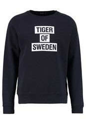 Tiger Of Sweden Eriik Sweatshirt Blue Dark Blue