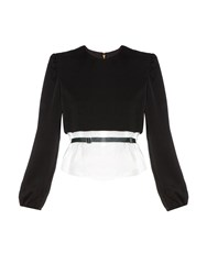 Toga Layered Long Sleeved Top