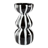 Day Birger Et Mikkelsen Lines Ceramic Vase Black White Black And White