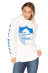 Junk Food Chargers Hoodie White