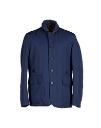 Alviero Martini 1A Classe Coats And Jackets Jackets Men Dark Blue