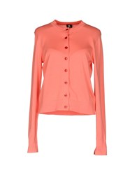 Paul Smith Ps By Cardigans Salmon Pink
