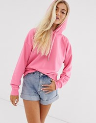 New Look Hoody In Pink