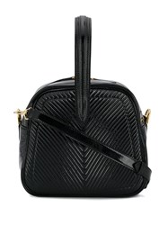 Marco De Vincenzo Quilted Tote Black