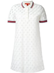 Hilfiger Collection Polo Shirt Dress White