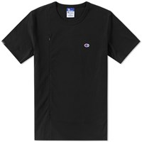 Champion X Beams Vertical Zip Tee Black