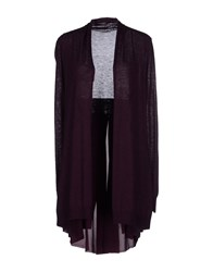 Marella Knitwear Cardigans Women Deep Purple