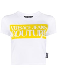 Versace Jeans Couture Cropped Logo Print T Shirt 60