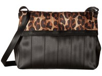 Harveys Seatbelt Bag Foldover Leopard Handbags Animal Print