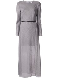 Camilla And Marc Chloe Belted Dress Grey