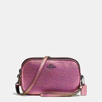 Coach Crossbody Clutch In Hologram Leather Dk Hologram