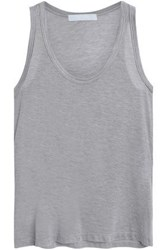 Kain Label Beryl D Grad Stretch Cotton And Modal Blend Tank Gray