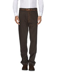 Homecore Casual Pants Dark Brown